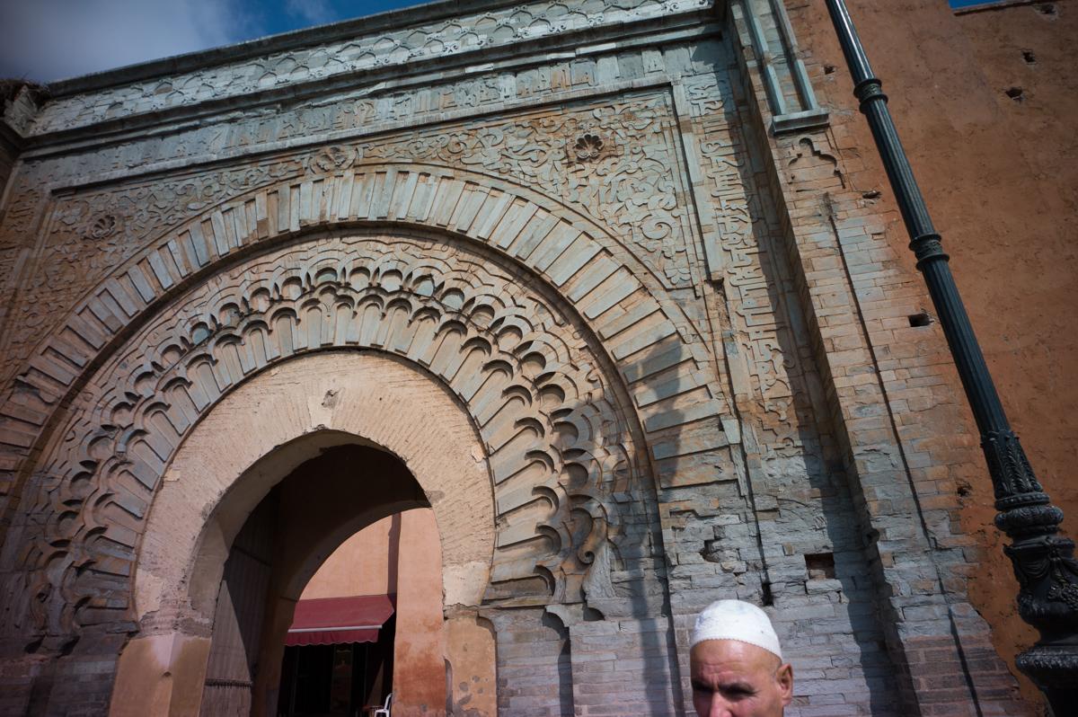 Bab Agnaou Bab Er Rob, Marrakech, Morocco