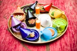 Moroccan spices, Dar Moha, Marrakech